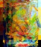 Peinture à l'huile Photographie stock