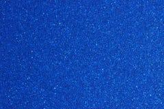 Peinture métallique bleue Photo libre de droits