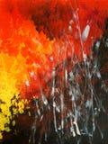 Peinture moderne Art abstrait Images libres de droits