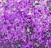 Peinture multicolore de couleur d'eau d'abrégé sur peinture de Digital dans différentes nuances de Violet Background illustration de vecteur