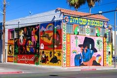 Peinture murale à Las Vegas du centre Photographie stock