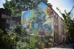 Peinture murale Images stock