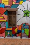 Peinture murale au Malacca, Malaisie Photographie stock libre de droits