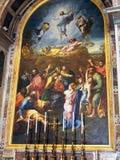Peinture murale biblique, cathédrale du ` s de St Peter, Vatican photographie stock libre de droits