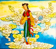 Peinture murale chinoise Photos libres de droits