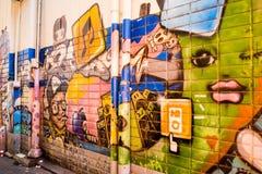 Peinture murale coréenne Images stock