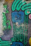 Peinture murale dans la ville de Guanajuato, Mexique image libre de droits