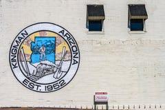 Peinture murale de Kingman, Arizona Images stock