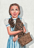 Peinture murale de mur, Judy Garland Photo stock