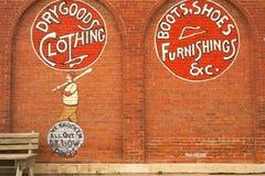 Peinture murale de Route 66 Photo libre de droits