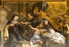 Peinture murale, groupe Image libre de droits