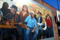 Peinture murale sur le mur Image libre de droits
