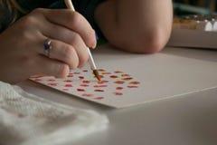 Peinture occasionnelle de matin Image stock