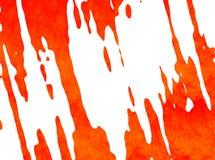 Peinture orange - résumé - 21 Photographie stock