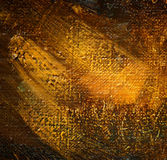 peinture par l'huile sur une toile, peinture Image libre de droits