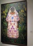 Peinture par Ramon Cano Manilla - exposition moderne d'Oaxaqueña 1928 Mexique d'Inde Avant-garde et révolution - Museo MALBA illustration libre de droits