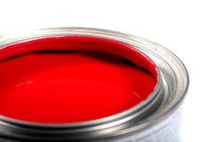 Peinture pour bâtiments de latex Image libre de droits