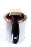 Peinture pour bâtiments de latex Photos libres de droits