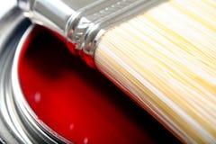 Peinture pour bâtiments de latex Images libres de droits