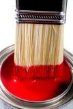 Peinture pour bâtiments de latex Image stock