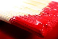 Peinture pour bâtiments de latex Images stock