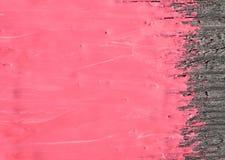 Peinture rose Photo libre de droits