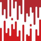Peinture rouge de égouttement illustration de vecteur