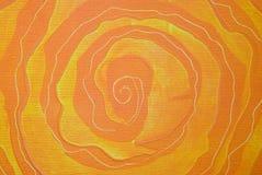 Peinture spiralée abstraite Photos libres de droits