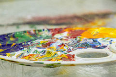 Peinture spontanée Image libre de droits