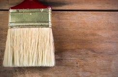 Peinture sur les planchers en bois Photos libres de droits
