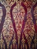 Peinture thaïe d'or d'art de tradition Image stock