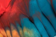 Peinture tirée par la main de gouache Fond d'art abstrait Texture de couleur photos libres de droits