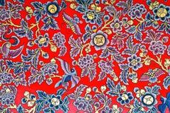 Peinture traditionnelle chinoise thaïe Images stock