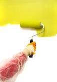 Peinture verte Photos libres de droits