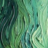Peinture verte Photo libre de droits