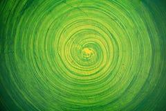 Peinture verte sur le mur Images libres de droits