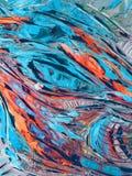 Peintures abstraites Images libres de droits