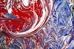 Peintures acryliques - texture Photo stock
