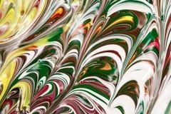 Peintures acryliques - texture photographie stock