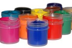 peintures colorées Photos stock