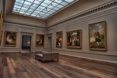 Peintures dans le National Gallery de l'art image stock