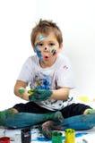 Peintures de couleur images libres de droits