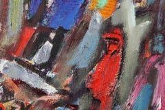 Peintures de fragment dans le style d'avant-garde ethnique illustration de vecteur