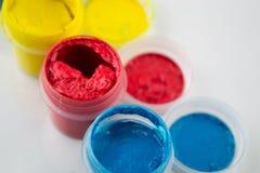 Peintures de gouache Photo stock