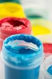 Peintures de gouache Images libres de droits