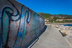 Peintures de mur Images libres de droits