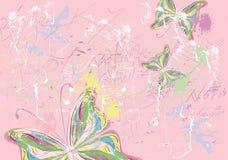 Peintures de papillon Images libres de droits