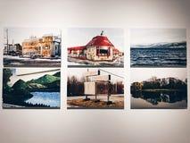 Peintures de paysage dans le GRENIER d'OCT. de Shenzhen image stock