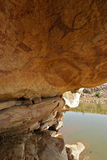 Peintures de roche de Bundi Images stock