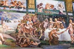Peintures en Palazzo del Te dans Mantua Images stock